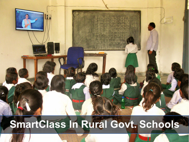 Bringing Smart Classes To Rural Govt Schools in Dist. Singrauli, MP