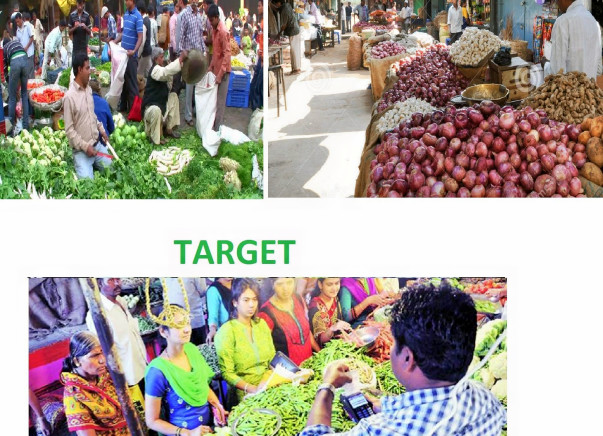 DIGITAL INDIA - Offer Training to small vendors, how to accept payment