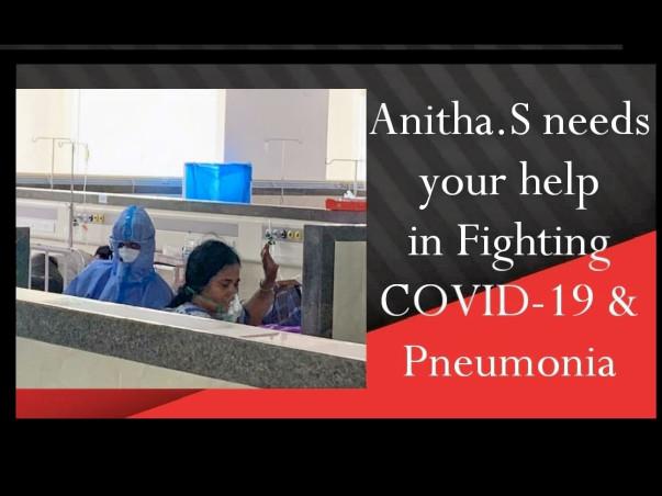 Help my mother fight COVID-19 + Pneumonia