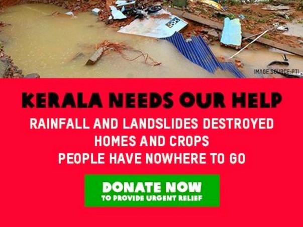 Kerela Relief Fund #KerelaFloods #KerelaFlood2018