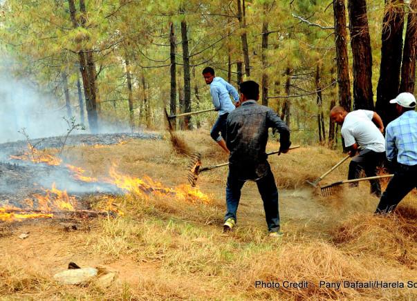 Help provide firefighting equipment and training to Uttarakhand