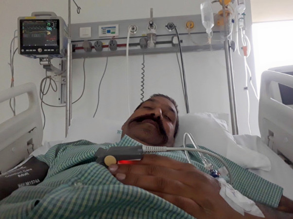 Help Subash Kunk fight clot in his brain
