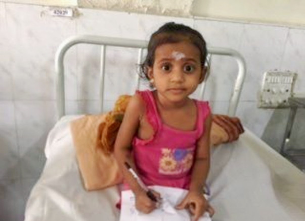 Baby Divya Needs You On Her Side To Survive Blood Cancer