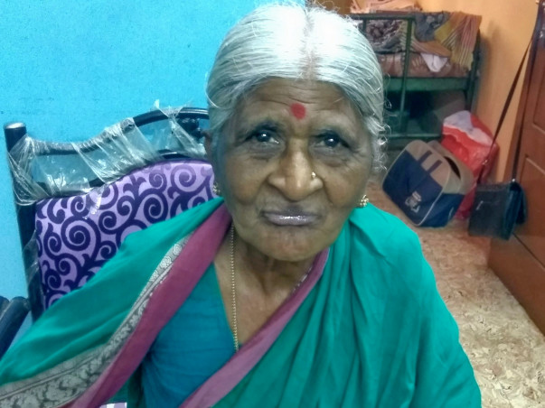 Elderly Woman Needs your Help