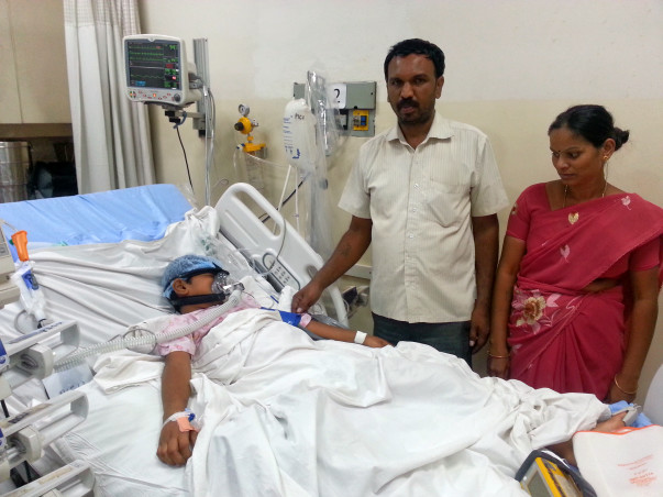 8-year-old Mohit needs help to get off ventilator support
