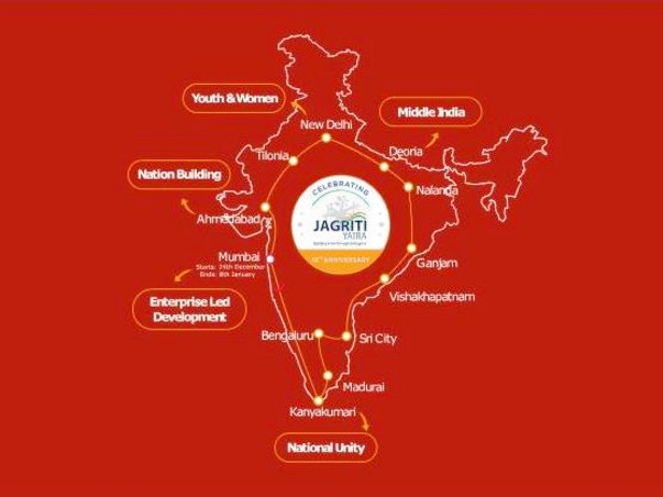 Help Prashant Complete Jagriti Yatra