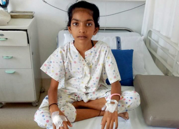 Help 10 Year Old Saniya Get A Heart Transplant