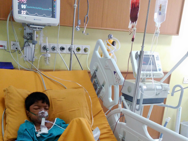 Help Baby Dhinesh For Open Liver Surgery Funds