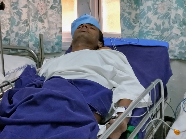 Help Sanoj Kumar suffered from Gall Bladder Cancer