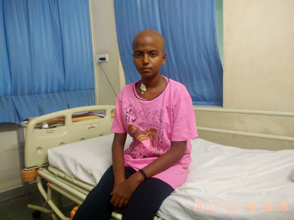 Help 13-year-old Sneha fight cancer