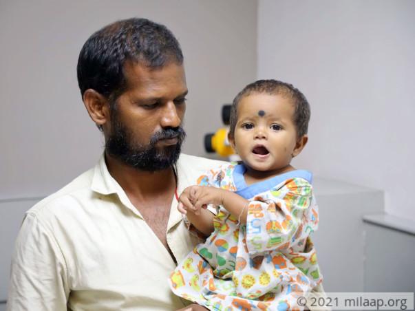 Help Priya's Baby Undergo A Cardiac Surgery