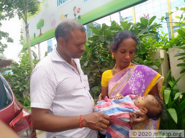 Help 3-month-old Suganya get a heart surgery