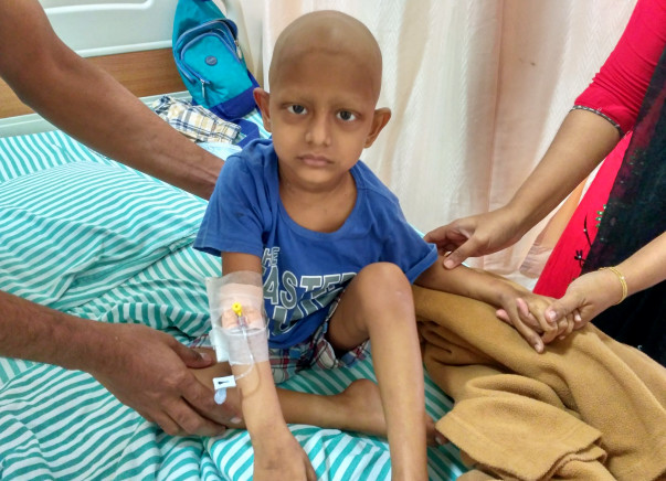 Help Baby Younus undergo a bone marrow transplant.
