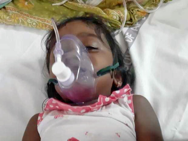 Help the Child Baby to Fight against Aplastic Anemia