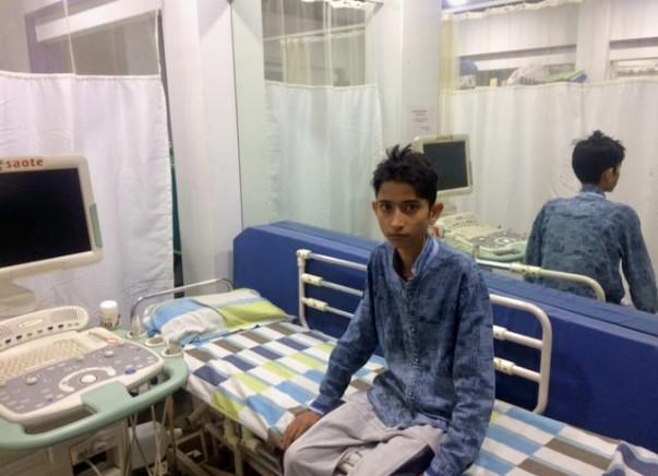 Help 15-year-old Tabrez fight a severe heart disease