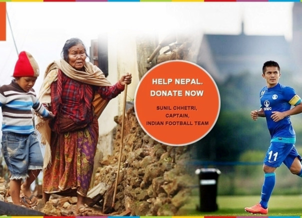 Fundraising for our relief efforts in Nepal. Every support counts!
