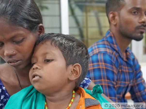 Help Aatul Recover From Transfusion Dependent Thalassemia