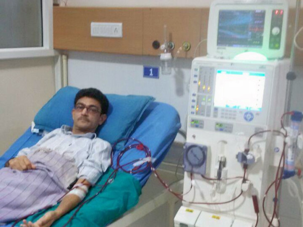 Help Vijay Kumar fight Renal disease