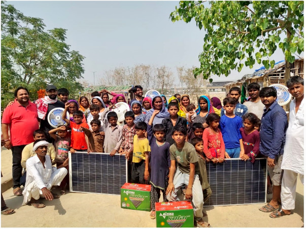 Help Bring Electricity to Adarsh Nagar Camp Residents