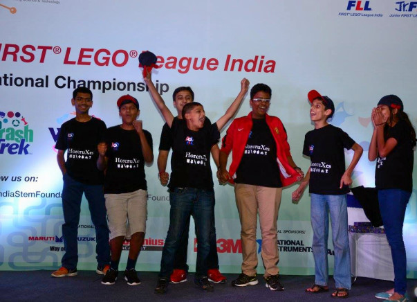 Support Team India for European Robotic Championship - FLL OEC 2016