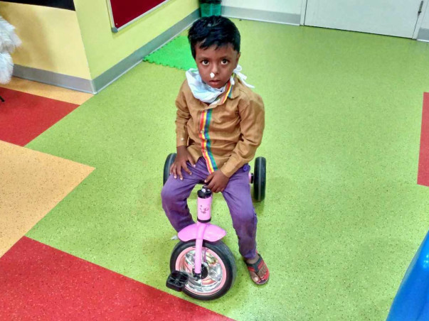 Help Mohammed Talha Get Treatment For A Congenital Blood Disorder