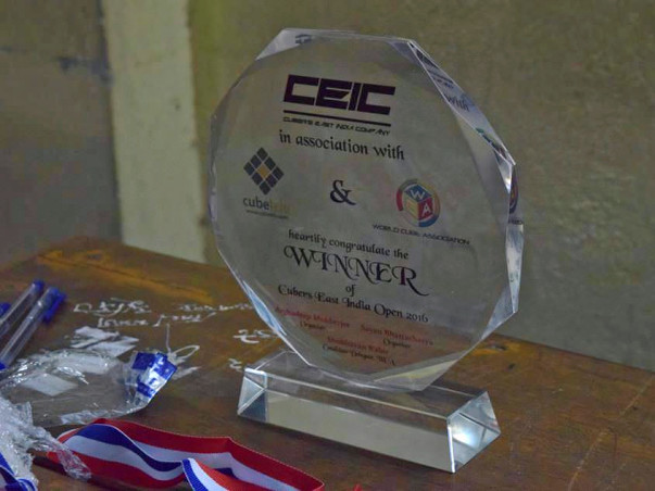 Help CEIC orgainze a cubing competition in East India