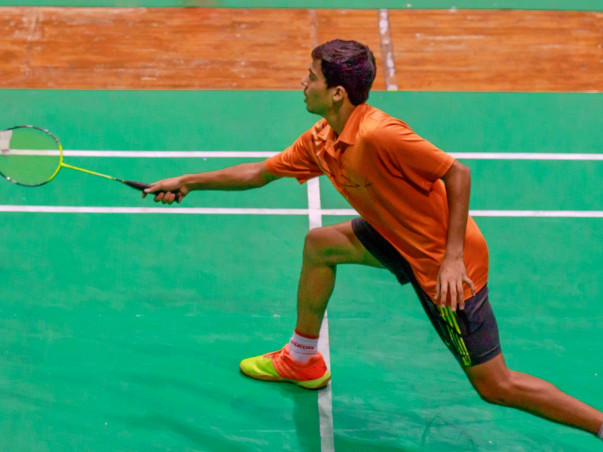 Help Vamsi Krishna become India's next badminton big