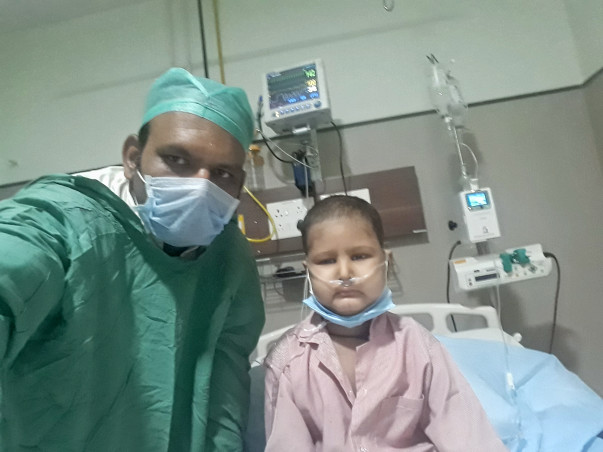 Please Help Me Save My Little Ragavendra