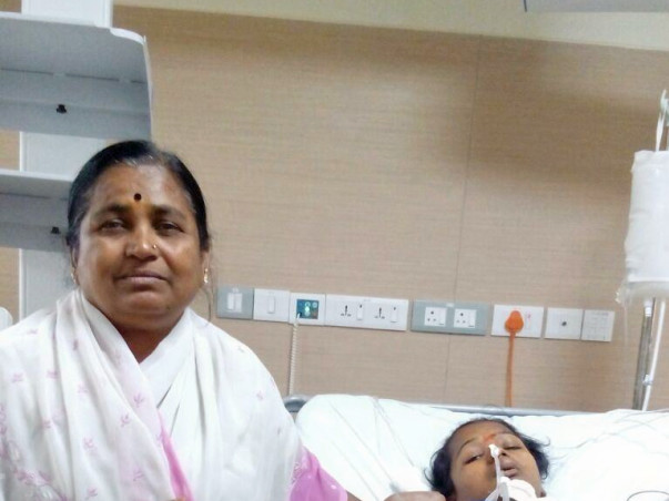 Anitha is alive due to the mercy of strangers. Help her walk again.