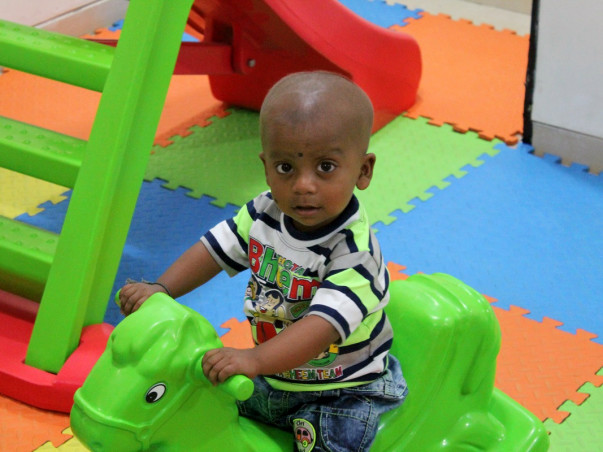Support 16 month old Thanmay undergo a liver transplant
