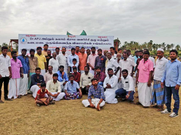 Help our Farmers to restore the reservoirs