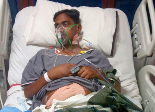 Save 34-Year-Old Pradeep Kumar Undergo Kidney Transplantation