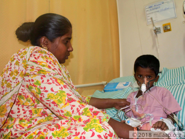 Afnan's Father Abandoned Him,Mother Struggles To Save Him From Cancer
