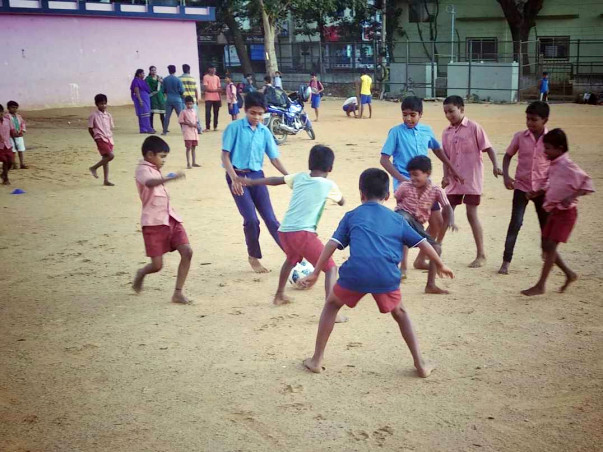 Help Underprivileged Children Play Football