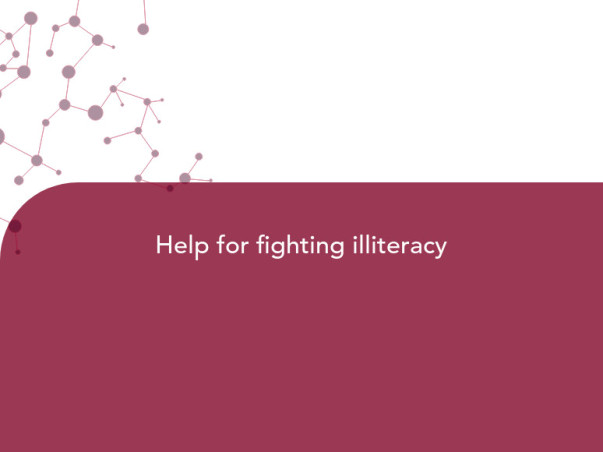 Help for fighting illiteracy