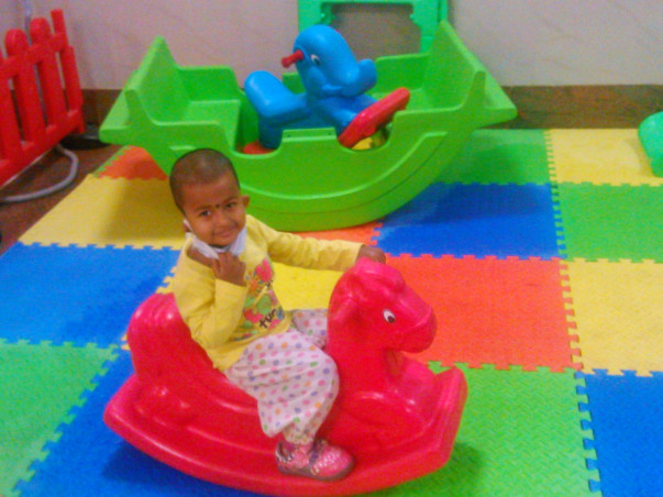 Help 2-Year-Old Aindrila To Complete Her Crucial Treatment