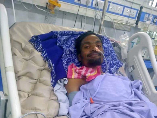 Help  Jagadeesh Chanda Fight GBS Syndrome!