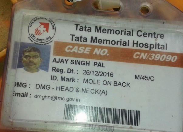 Help Ajay Singh against Cancer and regain his cheer