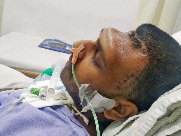 Help Ankit fight Heart attack followed by Brain Haemorrhage