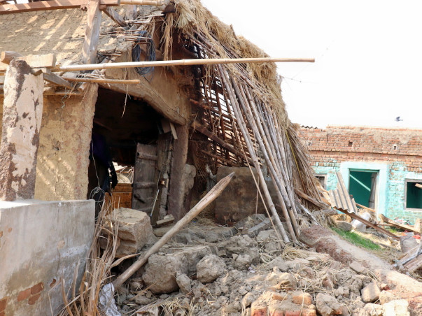 Help Dalit villagers in remote coastal Odisha post Cyclone Fani