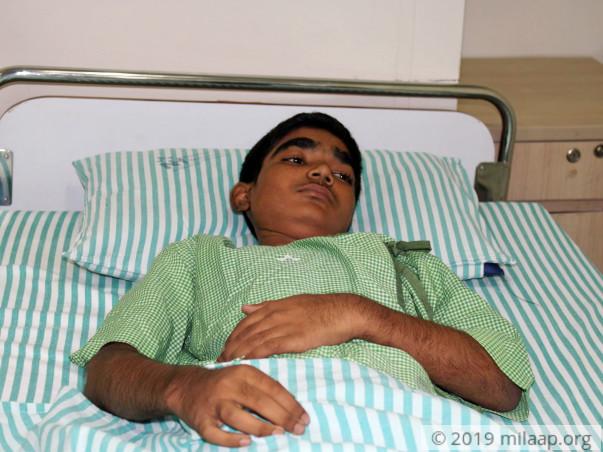 Help 13-year-old Riyad fight blood disorder