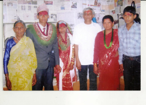 I am fundraising to help Tulsiram build his home back for his family