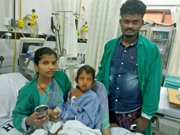 8 Year Girl Suffering With Chronic Liver Failure
