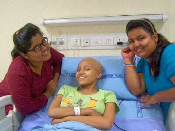 Help Parnavi Fight Bone Cancer