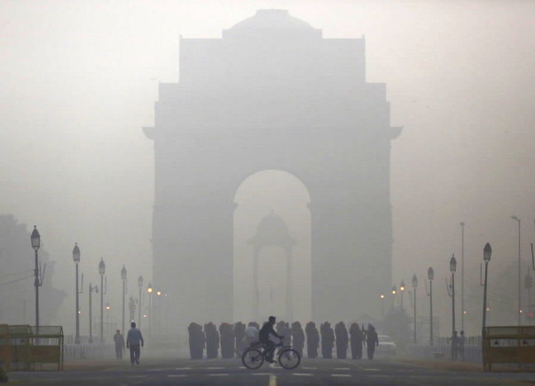 Help Delhi Come Out Of Air Pollution #PunchTheCarbonOut