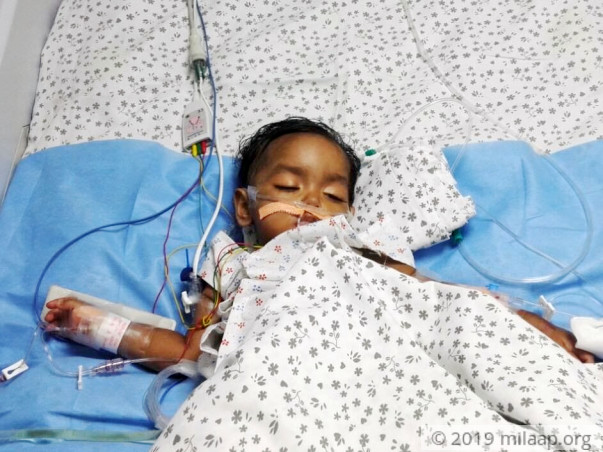 Help Likitha fight a severe problem that is causing her severe pain