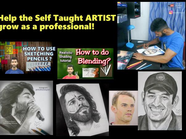 Help Artist Shubham Dogra Setup a Professional Art Studio!
