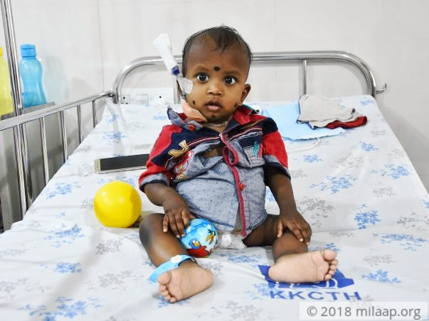 Both His Kidneys Have Failed And Only Dialysis Can Save This Baby