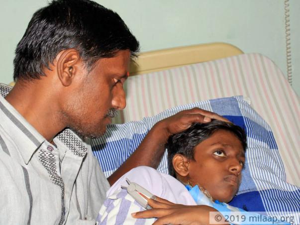 Help Hruthik Fight Fanconi Anemia