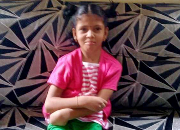 11-year-old Jaishree has been suffering from a severe brain condition